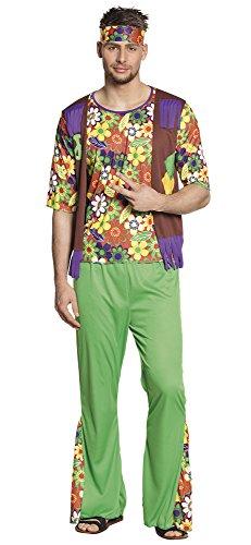 Boland 83877 Erwachsenenkostüm Woodstock Man mens L (Men's Woodstock Kostüme)