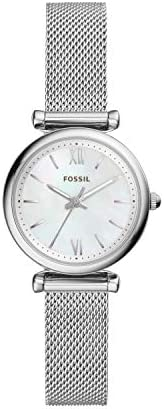Fossil Womens Quartz Watch, Analog Display and Stainless Steel Strap ES4432