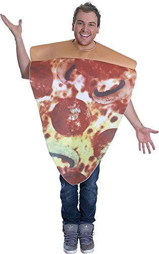 Unisex Erwachsene Kostüm Junggesellenabschied Spaß Frischer Nahrung & Drink Kostüm - (Fancy Dress Pizza Kostüm)