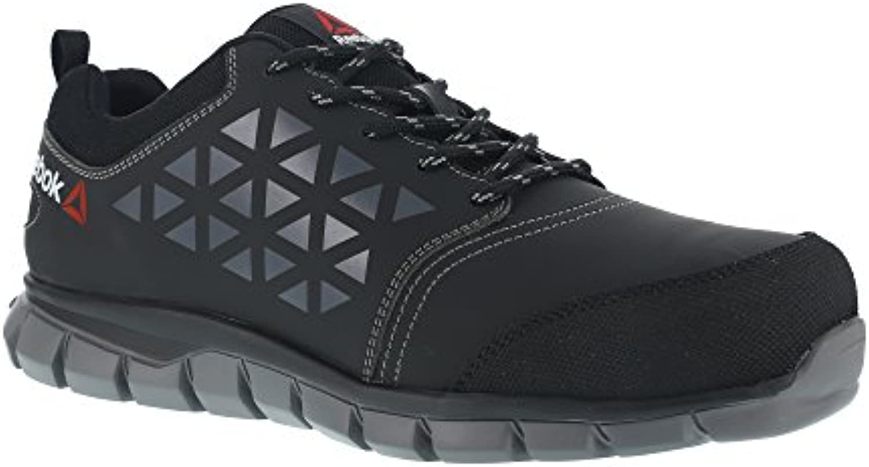 Reebok Work ib1032 S3 45 Excel luz Athletic zapatillas de seguridad zapatos puntera, aluminio, superior de fibra...