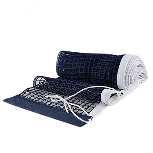 Fliyeong Tischtennisnetz Nylon Geflochtene Mesh Weißer Rand Ping Pong Net Ausbildung Standard Mesh für Outdoor-Sport 1 Stücke (Table Net Ping Tennis Pong)