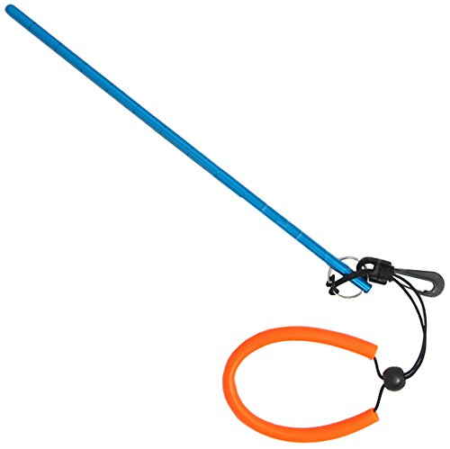 "Preisvergleich Produktbild Scuba Choice Scuba Diving 13"" Aluminum Lobster Tickle Pointer Stick with Measurement and Lanyard, Blue"