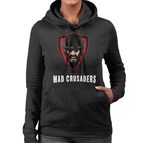 Mad Crusaders Taboo Women's Hooded Sweatshirt Black