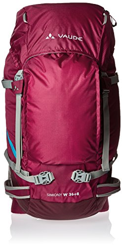 VAUDE Rucksack Women's Simony - Mochila de senderismo, color rosa, talla 36+8 L