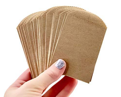 Mini-Papiertüten - 10,2 x 6,3 cm DIY Craft Supplies Bestecktasche Party Favor