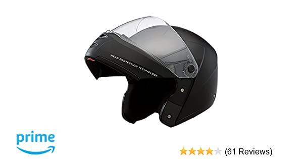 87696045 Studds Ninja Elite Super Full Face Helmet (Black, L): Amazon.in: Car &  Motorbike