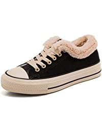 SimpleC Femme Mode Hiver Neige Chaudement Chaudes Fourrure Baskets Sneaker  Bottines b873aad1f015