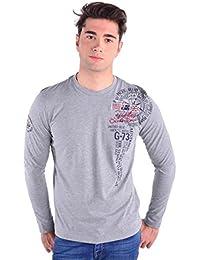 GALVANNI Falke, Camiseta de Manga Larga para Hombre