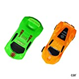 Ohwens Pull Back Car, 2 Pcs Children Kids Baby Pull Back Car Toy Mini Tank Aircraft Helicopter Modle Educational Gift (Random Color)