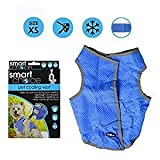 YoL Medium pet cooling dog vest reflective lightweight reusable 6 hours cool 32cm