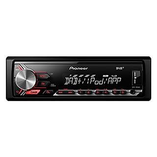 Pioneer MVH-290DAB | 1DIN Autoradio mit RDS – DAB/DAB+-Radiotuner | USB | AUX-Eingang | Direktsteuerung von iPod und iPhone | Spotify-Steuerung für iPhone | ARC-Apps für Android und iPhone per USB