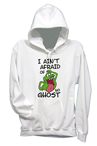 Felpa SLIMER I AINT AFRAID OF NO GHOST - GHOSTBUSTERS - FILM by MUSH Dress Your Style Bianca