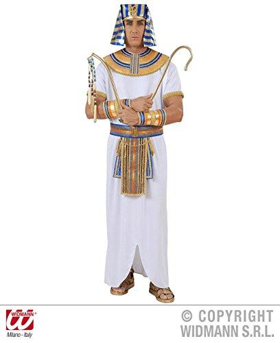 KOSTÜM - PHARAO - Größe 52 (L) *** Qualitätsprodukt ***, Pharaonen Ramses 2. II. Cheops Tutenchamun Echnaton Cleopatra Ägypten Kaiser Herrscher (Kostüm Herrscher)