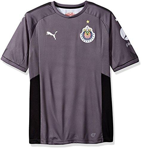 128bbb07870f8 Puma da Uomo Chivas GK Home Shirt Replica 17-18 Maglia Sportiva - Grigio - M