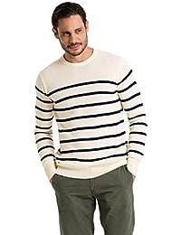 Wool Overs Pull marin homme en laine d'agneau