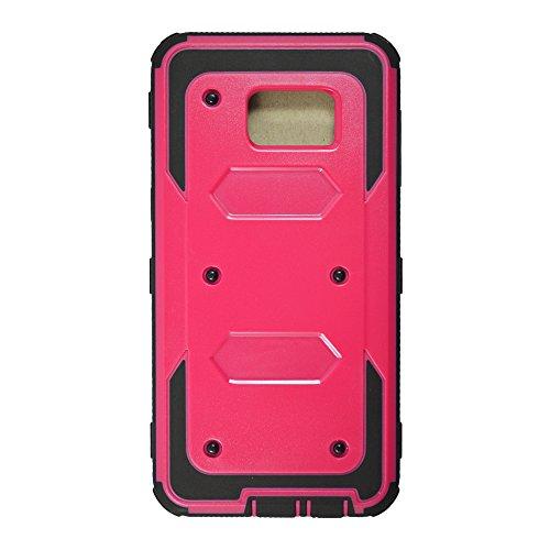 3 en 1 Coque iPhone 6 Plus / 6S Plus, Yihya Hybride PC Rigide + souple en silicone TPU Gel [Rugged Armor] Resilient [Orange] Ultimate Housse de protection pour Apple iPhone 6 Plus / 6S plus 5,5 pouces Se leva