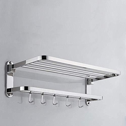 Jucaiyuan-Badezimmerständer Jcy Edelstahl-Handtuchhalter, Handtuchring, Stange, Rahmen, Faltbar Schlags-Multi-Funktions-Rack-Quelle -
