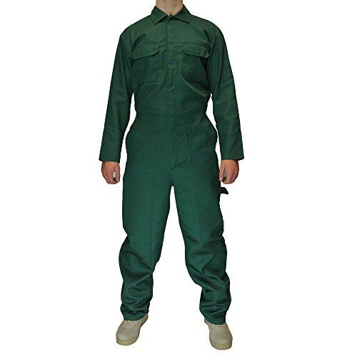 Preisvergleich Produktbild Army And Workwear Herren Blaumann Mechaniker Overall Blaumann Arbeitskleidung - FICHTE Olivgrün, XXXXL