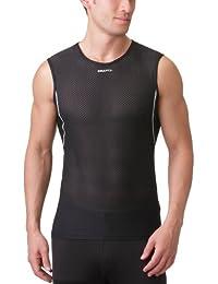 Craft Craft stay cool Sous-vêtement superlight sans manches homme Noir argent L
