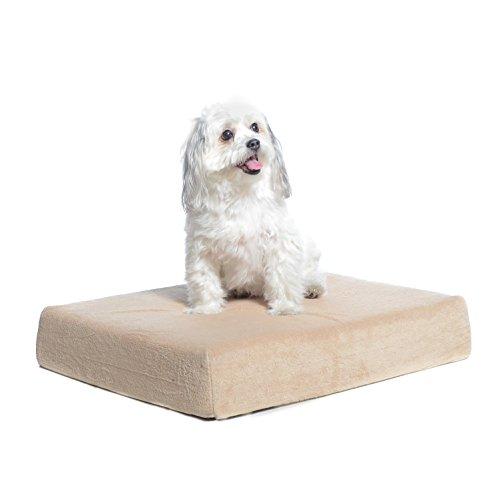 Milliard Premium Orthopädisches Hundebett aus Memory-Schaum mit antimikrobieller, wasserabweisender, Rutschfester Hülle