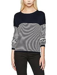 ONLY Damen Onlmalaga Stripe L/S Pullover Knt