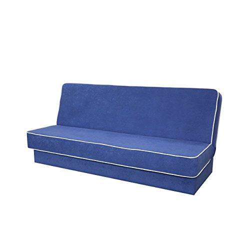 Schlafsofa Belaro, Schlafcouch, Sofa mit Schlaffunktion, Bettsofa, Couch mit Bettkasten, Farbauswahl, Wohnlandschaft (Mikrofaza 0012 + Mikrofaza 0031)