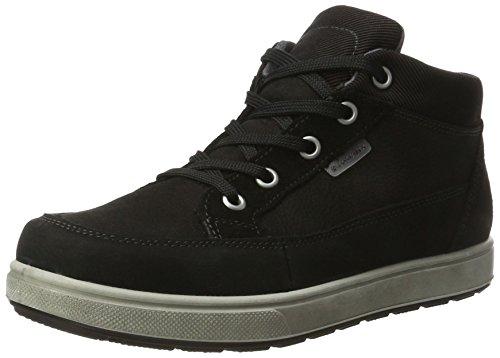 Ricosta Jungen Leon Hohe Sneaker, Schwarz, 00037 EU