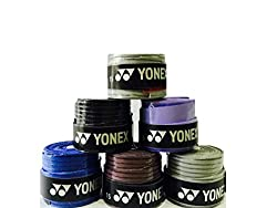 Yonex Etec Badminton Grip, Pack of 6 (Assorted)