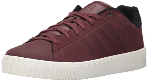 K-Swiss Court Frasco, Sneakers Basses Homme Rum Raisin/Marshmallow/Rum Raisin