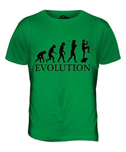 CandyMix Aerobic Evolution Des Menschen Herren T Shirt Grün
