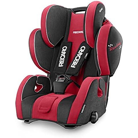 Recaro Young Sport Hero Racing Edition - Silla de auto, grupo 1, 2 y 3, color rojo