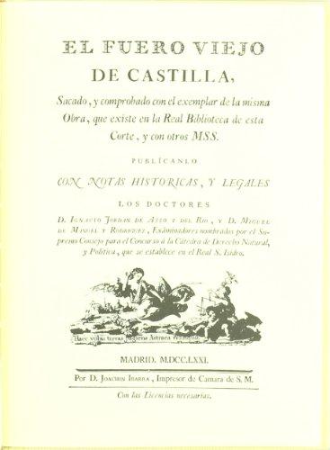 El fuero viejo de Castilla por Castile (Kingdom)