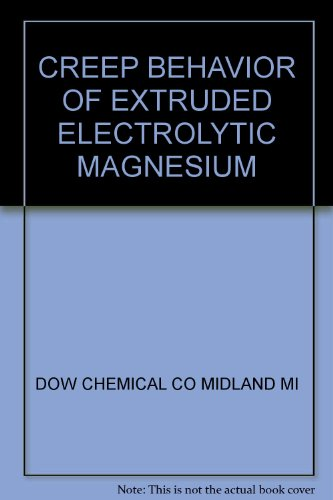 creep-behavior-of-extruded-electrolytic-magnesium