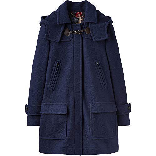 Joules Womens Woolsdale Double Faced Wool Blend Duffle Coat -