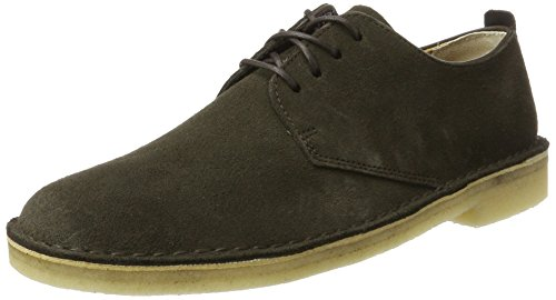 Clarks Originals Herren Desert London Derbys, Braun (Peat Suede), 44.5 EU London Suede