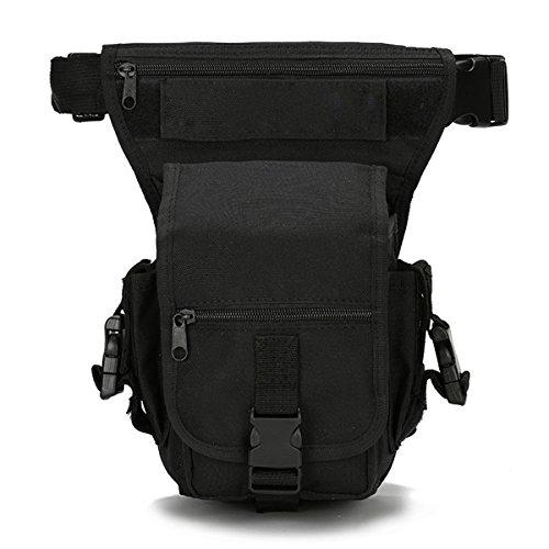 Huntforgold Damen Herren Outdoor Beintasche Hüfttasche Militär 600D Nylon Drop Beinbeutel Mehrzweck Taktische Schenkel Tasche