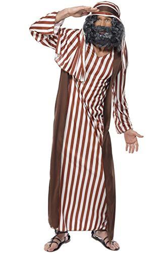 Shepherd Kostüm braun und weißen Streifen für - Braun Shepherd Kostüm