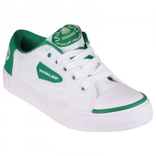 Dunlop - Zapatillas para mujer, color blanco, talla 47