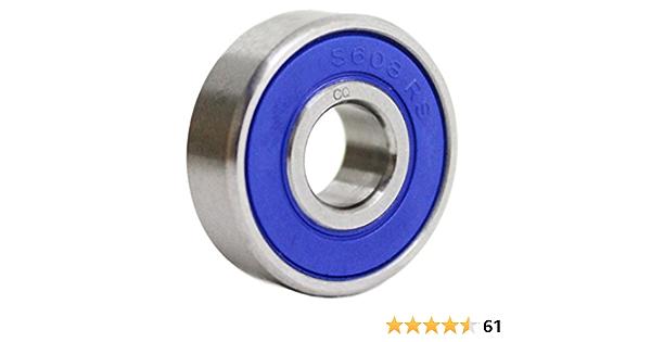 S61814-2RS ZEN en acier inoxydable portant
