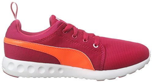 Puma Carson Runner Wn's, Chaussures de Course Femme Rose - Pink (rose red-fluo peach-pink dogwood 13)