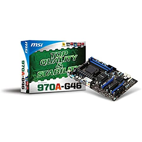 MSI 970A-G46 - Placa base (DDR3-SDRAM, AMD, Socket AM3+, Athlon FX)