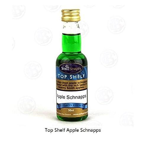 MOONSHINE ALCOHOL FLAVORING Apple Schnapps Flavor STILL SPIRITS Top Shelf 50ml by Hobby Homebrew