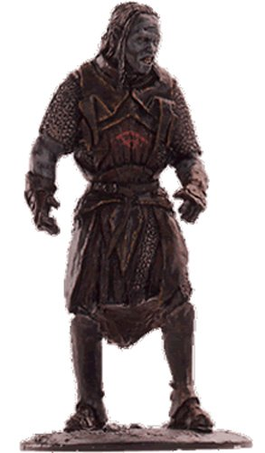 Lord of the Rings Señor de los Anillos Figurine Collection Nº 47 Shagrat 1
