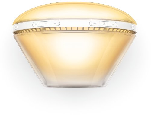 Philips HF3520/01 Wake-Up Light (Sonnenaufgangfunktion, digitales FM Radio, Tageslichtwecker) weiß - 9