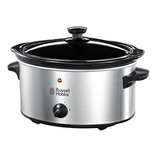 41bxbNOsAlL. SS500  - Russell Hobbs Slow Cooker 23200, 3.5 L - Stainless Steel Silver