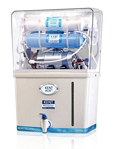 Kent Ace Plus 60-watt Mineral Ro Water Purifier (white/blue)