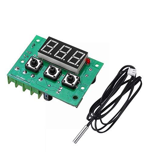 ILS - XH-W1601 DC12V Temperaturregler PWM Temperaturregelmodul Semiconductor Refrigeration PID Heizung mit Display -