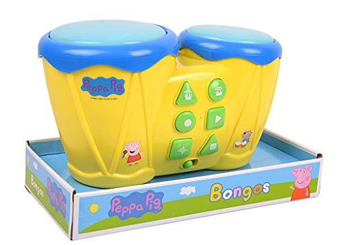 Peppa Pig Wutz Bongos Trommeln Schlagzeug # Kinder Spielzeug Lernen Schweine Peppa GW1721