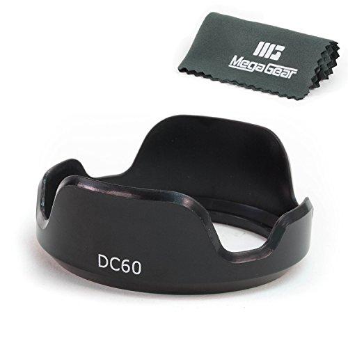 MegaGear LH-DC60 Lens Hood for CANON PowerShot SX50, SX40, SX30, SX20, SX10, SX1 Digital Cameras