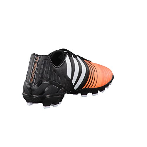 adidas Nitrocharge 3.0 AG Homme Chaussures de football, Noir Black-White-Flash orange